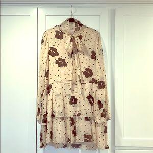 SEE BY CHLOE   Chiffon Mini Dress   sz US 4